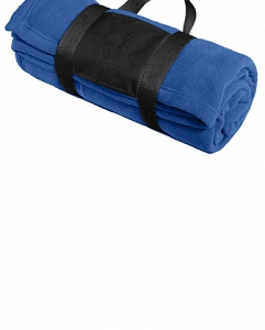 Lionbackers - Port Authority Fleece Blanket with Carrying Strap