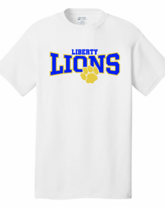 Lionbackers -Liberty Lion T-Shirt Short Sleeve and long Sleeve