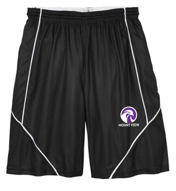 Mount View Sport-Tek PosiCharge Mesh Spliced Short