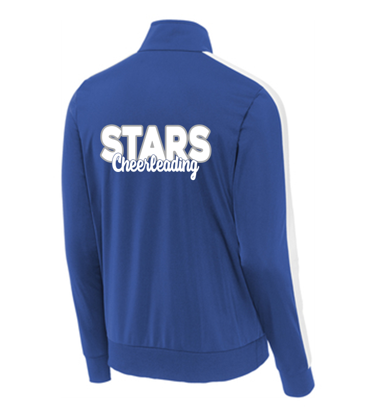 Stars Cheer Tricot Zip Up Jacket