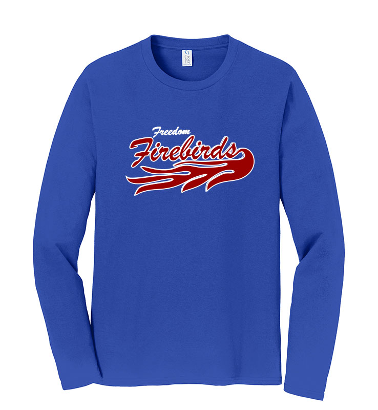 Firebirds Port & Company Long Sleeve Fan Favorite Tee