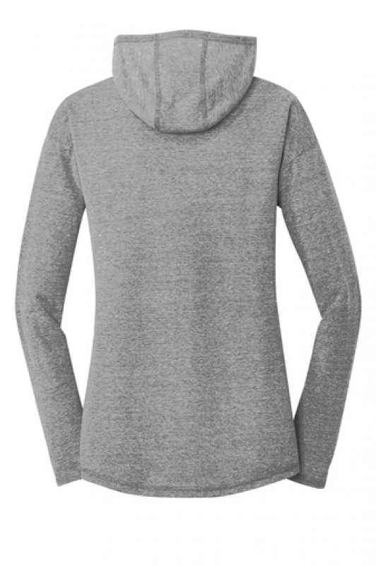 New Era® Ladies Tri-Blend Performance Pullover Hoodie Tee