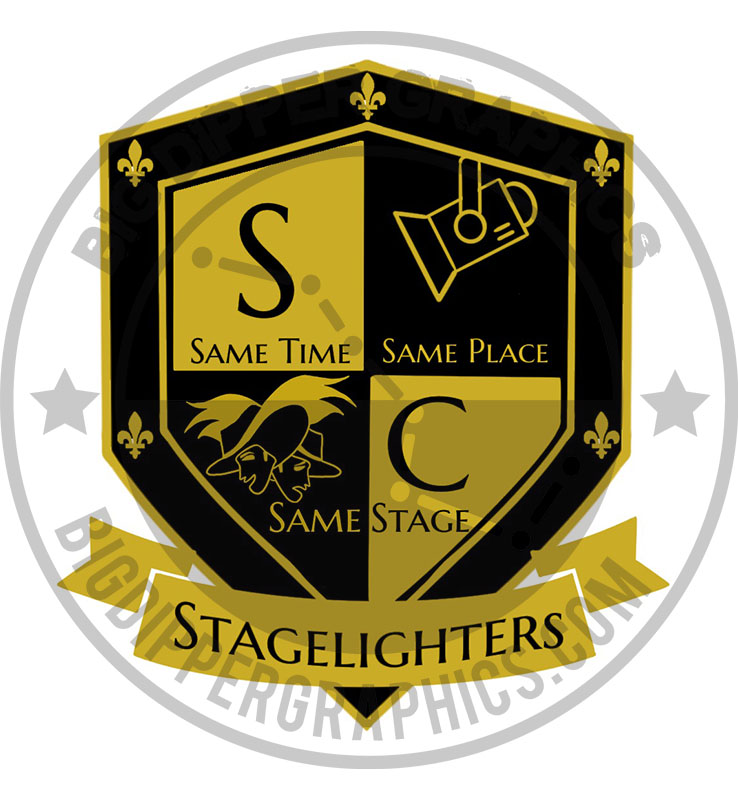 "Stagelighters 3.5"" Decal"