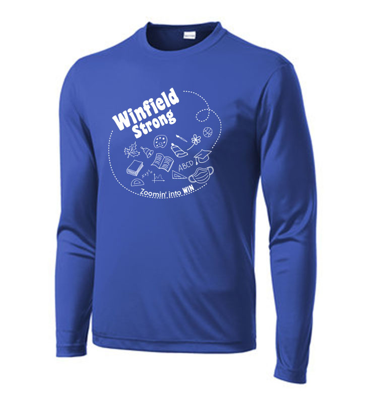 Winfield Elementary Sport-Tek Long Sleeve PosiCharge Competitor Tee
