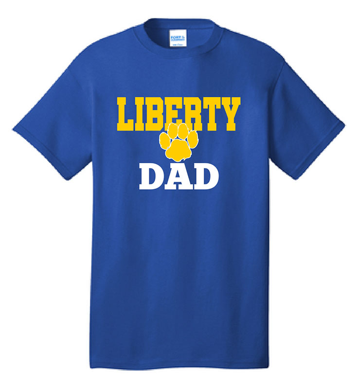 Lionbackers Dad T-Shirt