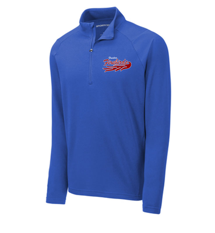 Firebirds Sport-Tek Lightweight French Terry 1/4-Zip Pullover