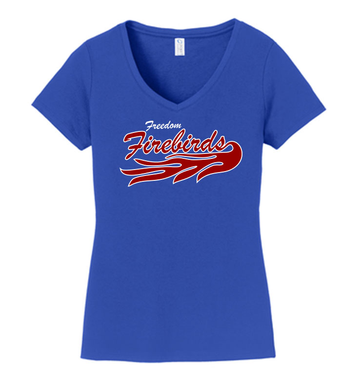 Firebirds Port & Company LADIES FAN FAVORITE VNECK