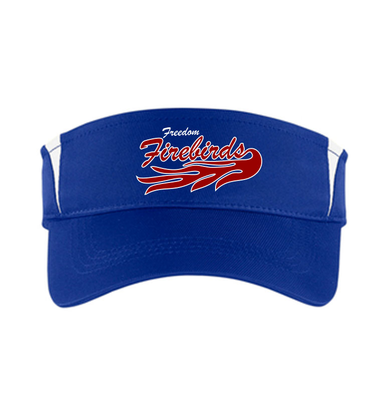 Firebirds Sport-Tek Dry Zone Colorblock Visor