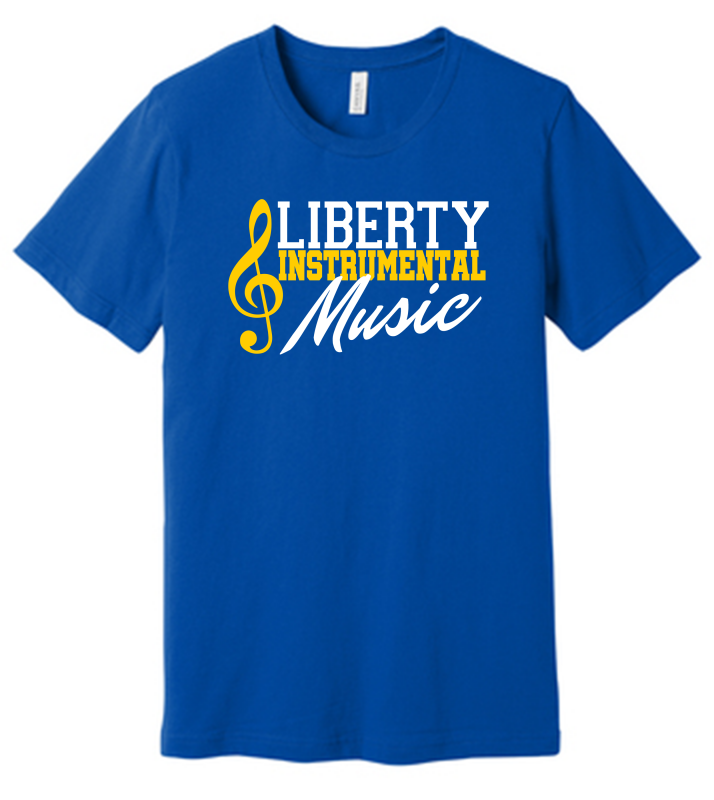 Liberty Instrumental Music BELLA+CANVAS Unisex Jersey Short Sleeve Tee