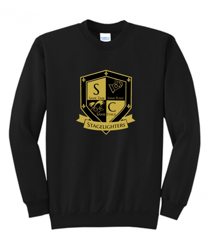 Stagelighters Crew Neck Sweat Shirt