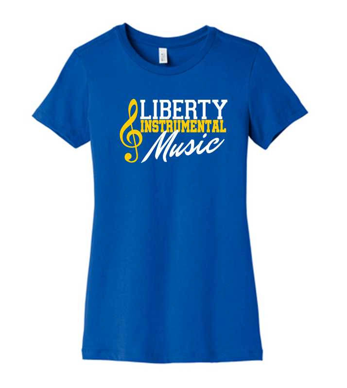 Liberty Instrumental Music BELLA+CANVAS Women's The Favorite Tee